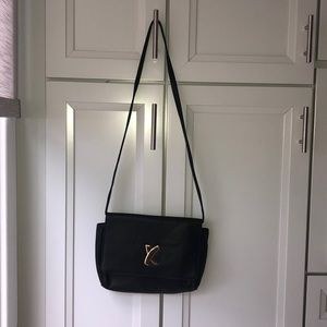 Vintage Paloma Picasso All Leather Black  Purse